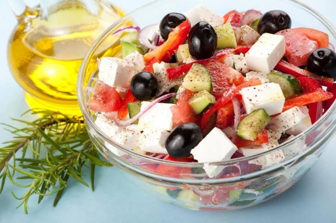 Вкусные салаты из свежих овощей. новые рецепты легких салатов без майонеза