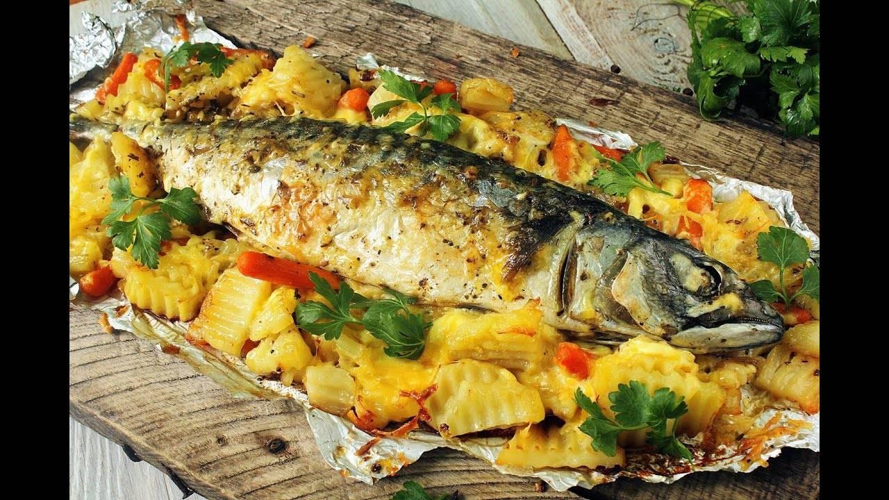 Как приготовить рыбу в духовке. лучшие рецепты запеченной в духовке рыбы
