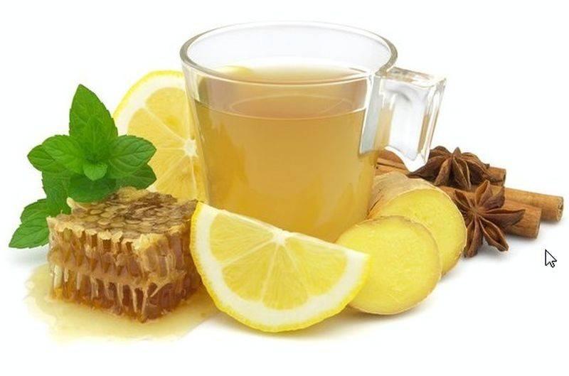 Лучшие рецепты имбирного чая