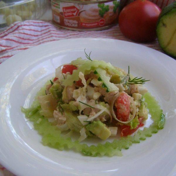 Бутерброд с авокадо сыром и помидором