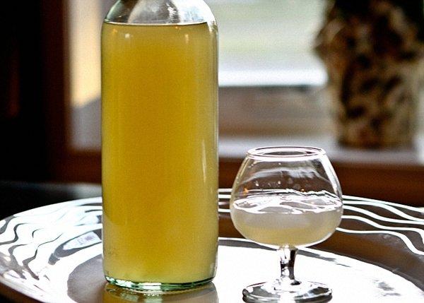 Имбирная водка иимбирный ликер