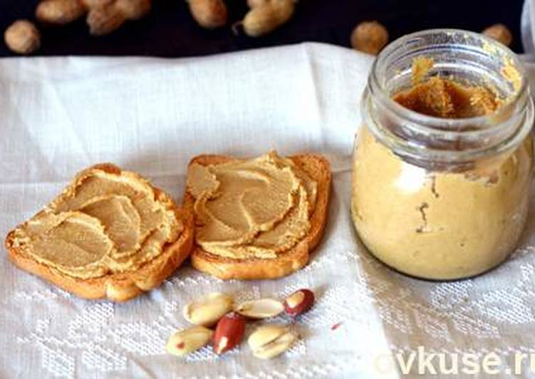 Домашняя арахисовая паста за 5 минут