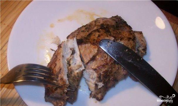 Куриная грудка с черносливом в духовке - рецепты