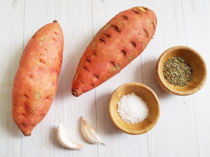 Картофельный гратен с бататом