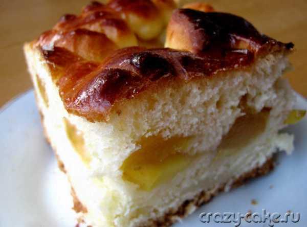 """Пирог с яблоками """"восхитительный-2"""""""