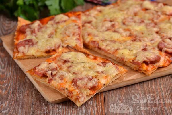 Хотите готовить вкусную домашнюю пиццу быстро — вот вам лучшие рецепты