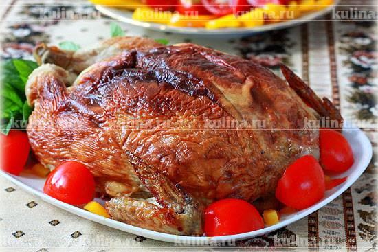 """Фаршированная курица """"мой семейный рецепт"""""""