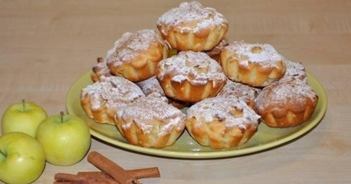 Рецепт маффинов с яблоками - 7 пошаговых фото в рецепте