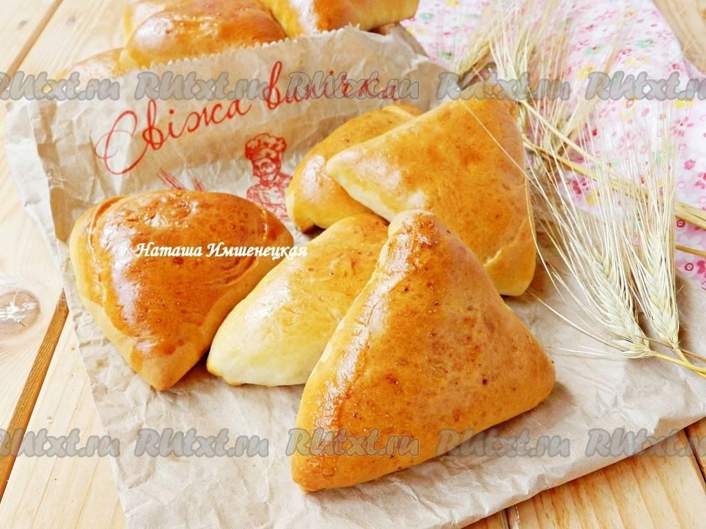 Домашние пирожки с начинкой из печени и яблок