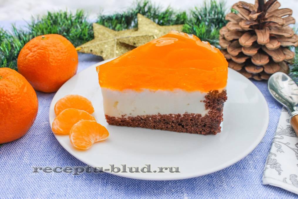 Как приготовить апельсиново-мандариновый торт со сметанным кремом? пошаговый рецепт с фото.