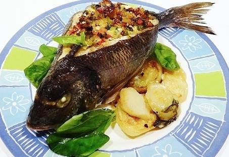 Рыба фаршированная
