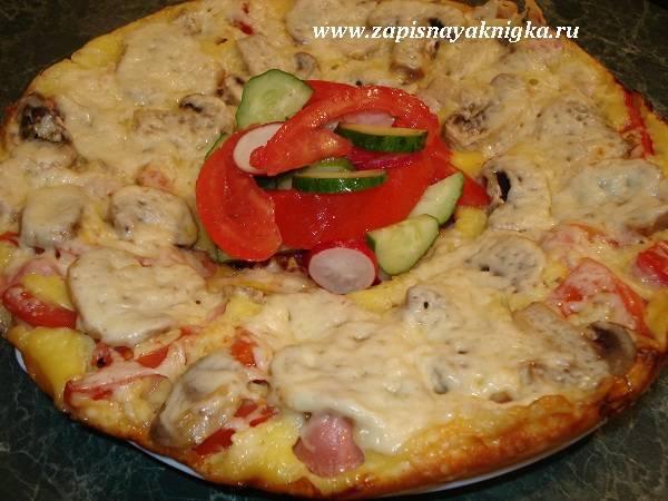 Пицца на сковороде