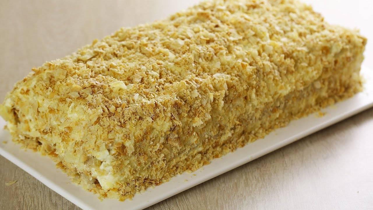 """Ленивый """"торт наполеон"""" - рецепт с фотографиями - patee. рецепты"""