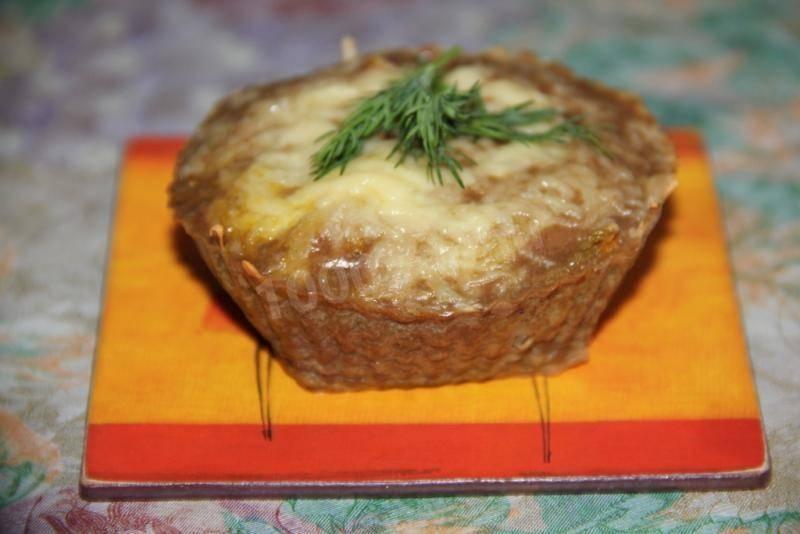 Кекс с куриной печенью - 9 пошаговых фото в рецепте
