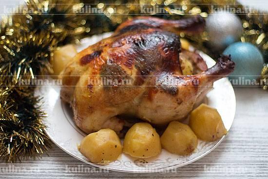 Сочная курица, запеченная в духовке