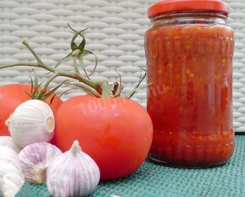 Острая аджика - рецепты на зиму абхазского и грузинского соуса, из перца, помидоров, кабачков и огурцов