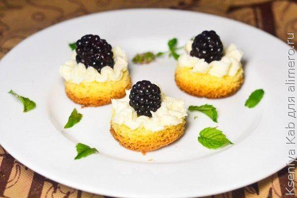 Песочное печенье с ежевикой - рецепт с фотографиями - patee. рецепты