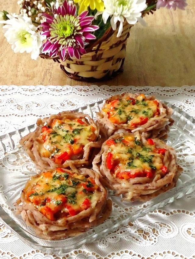 Лапша удон с фаршем, грибами и овощами - рецепт с фотографиями - patee. рецепты