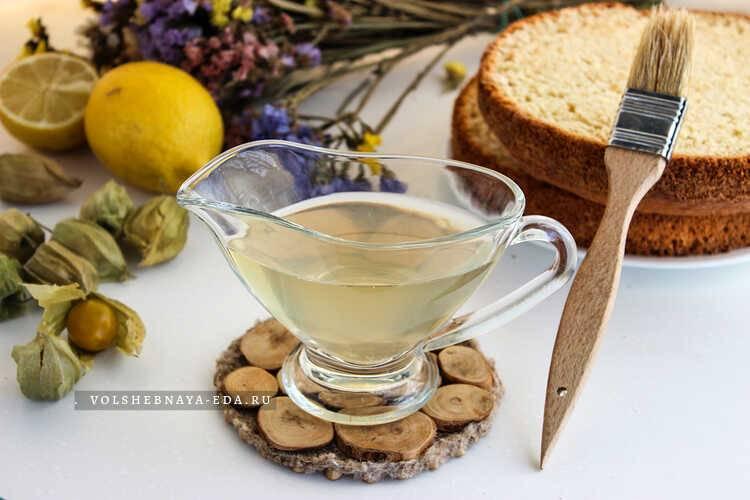 Сахарный сироп - рецепты для пропитки бисквита, для коктейлей, булочек и чак-чака. как приготовить инвертный сахарный сироп?