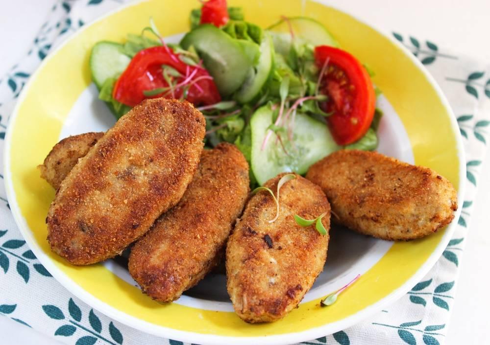 Картофельно-рыбные котлеты