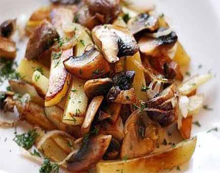 Шампиньоны с картошкой - рецепты джуренко
