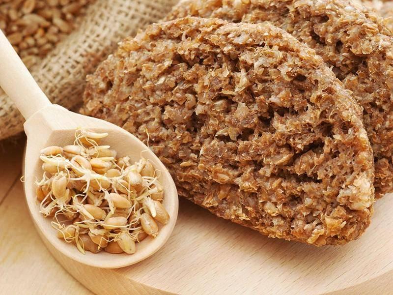 Блюда из пророщенной пшеницы