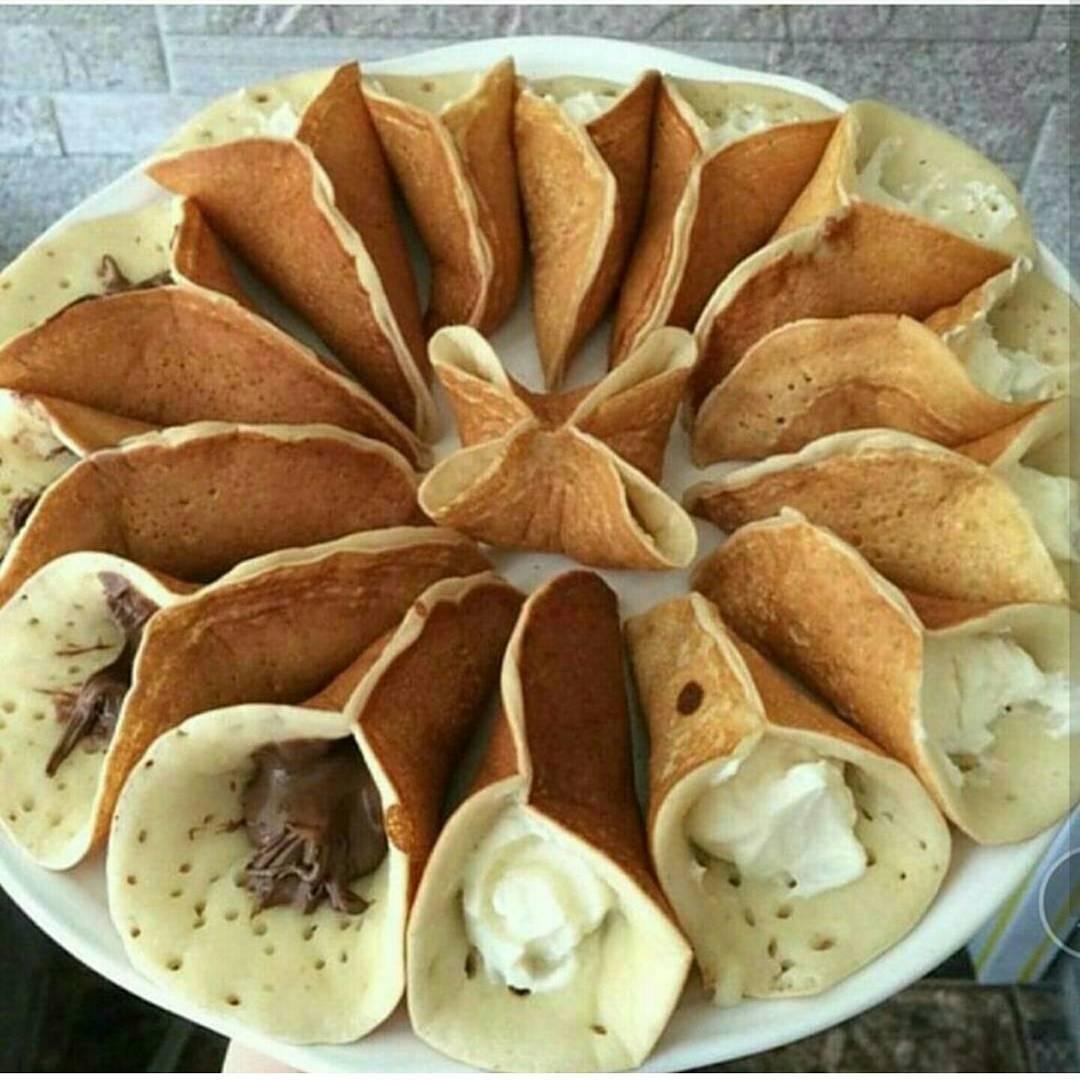 Марокканские (арабские) блины катаеф: рецепты с фото