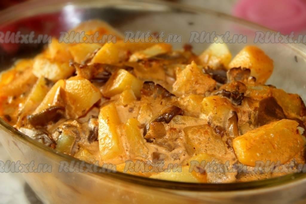 Вешенки, запеченные с картошкой в духовке: рецепты, секреты приготовления - onwomen.ru