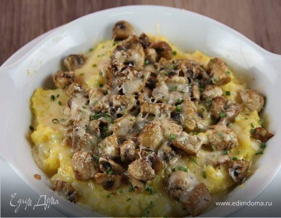Полента с грибами и сыром - пошаговый рецепт с фото |  разное