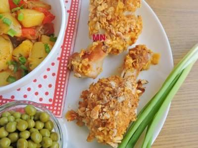 Куриные ножки,как в kfc:балуем семью вкусным блюдом