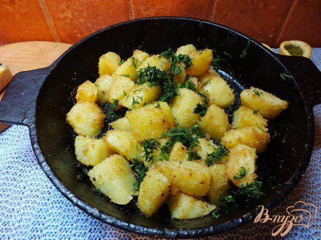 Картошка в сухарях в духовке