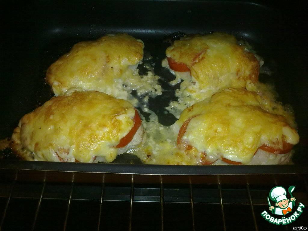 Куриные грудки с помидорами и сыром: отбивные, фаршированные