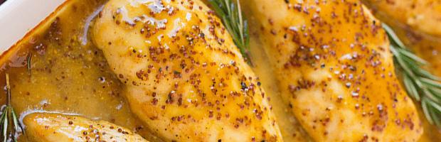 Курица в медово-горчичном соусе:удивляем родных вкуснейшим блюдом