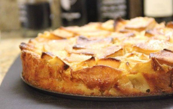 Изумительный яблочный пирог-перевёртыш