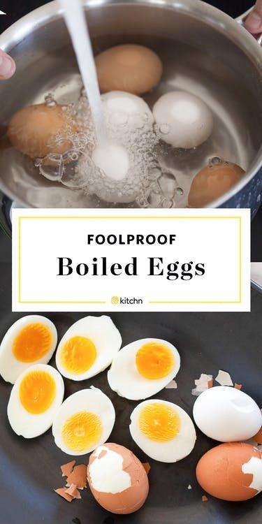 Как сварить яйцо
