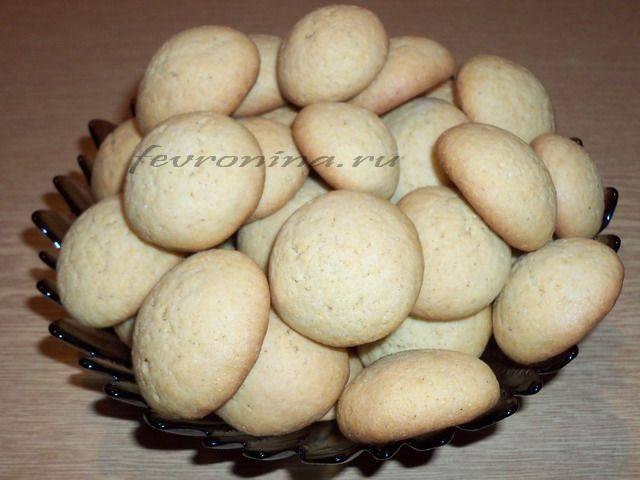 Печенье без яиц