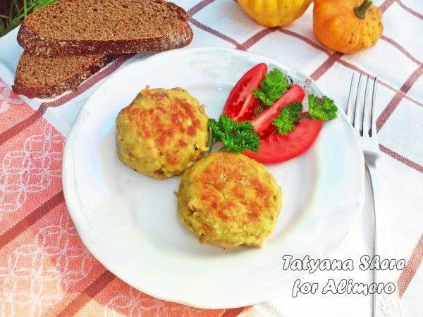 Чечевичные зразы с сыром