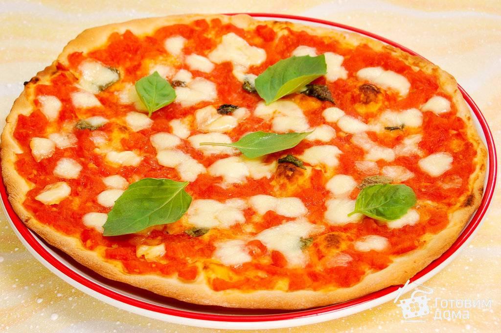 Пицца маргарита - рецепт с фотографиями - patee. рецепты