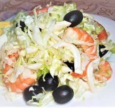Салат из креветок