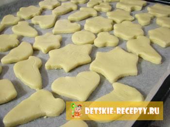 Фигурное печенье: рецепт с фото