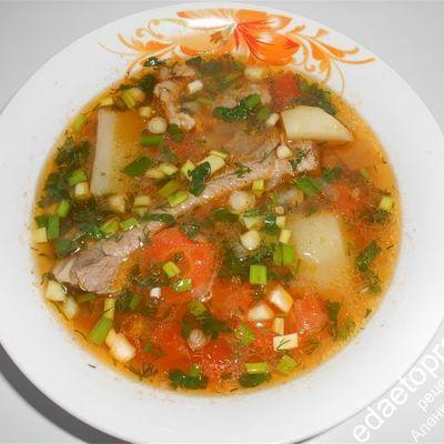 "Куриный суп ""товук шурпа"""