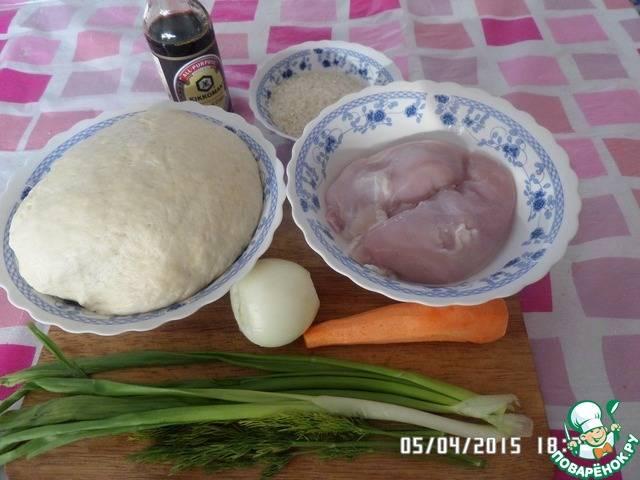 Куриные лодочки с начинкой из печени