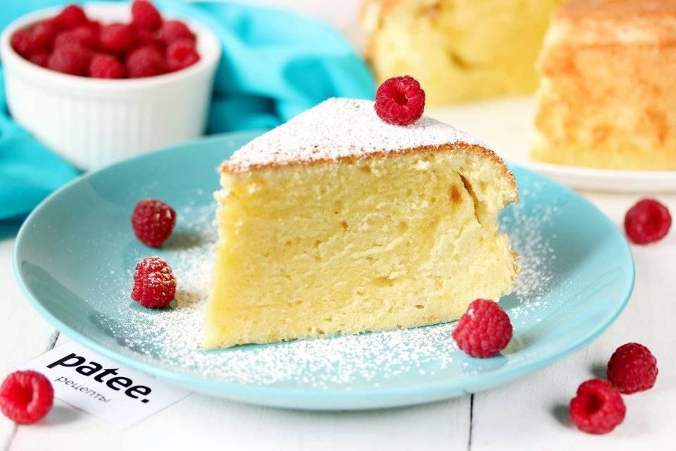 Лимонный пирог в мультиварке - 16 пошаговых фото в рецепте