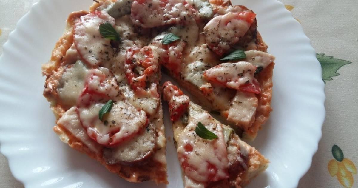 Пицца из хлеба на сковороде - 12 пошаговых фото в рецепте