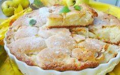 Пирог с грушами и мандаринами