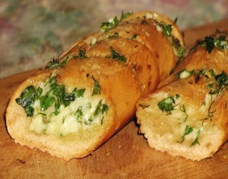 Чесночный итальянский хлеб
