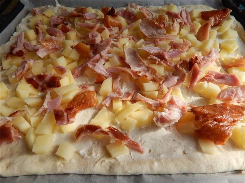 Как приготовить деревенскую пиццу?