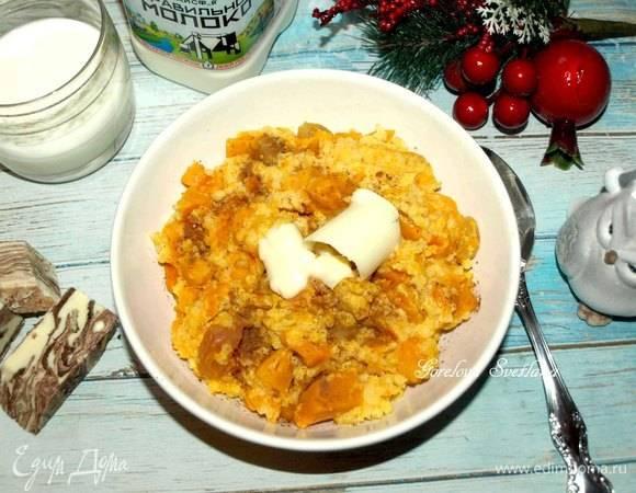 Тыквенная каша с рисом – 8 рецептов приготовления дома