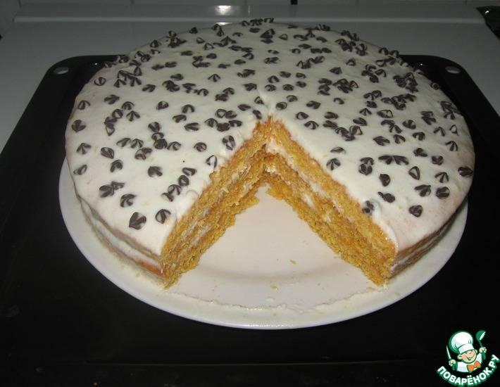 Лимонный торт – классический рецепт
