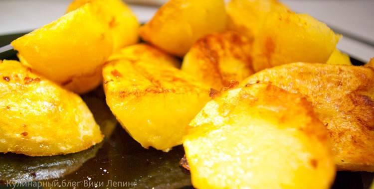 Картофельные дольки по-деревенски - вкуснейшие пошаговые рецепты с фото